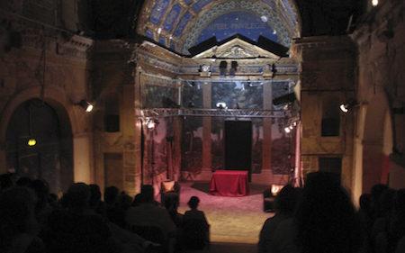 Salle de théâtre à Avignon - Salle du Roi au théâtre du Roi René